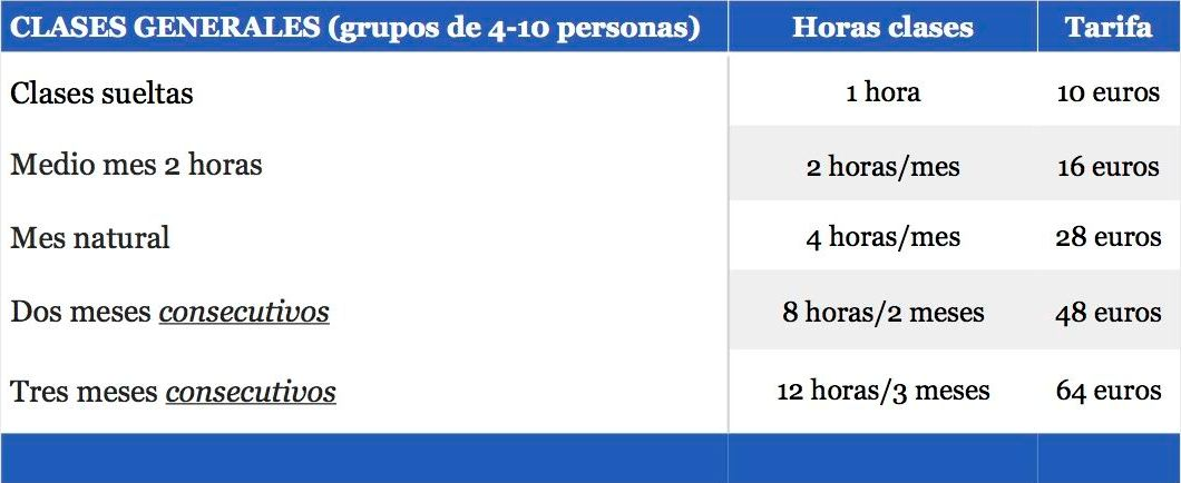 CLASES GENERALES