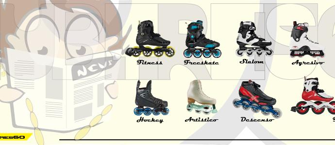 Slide -Tipos de patines