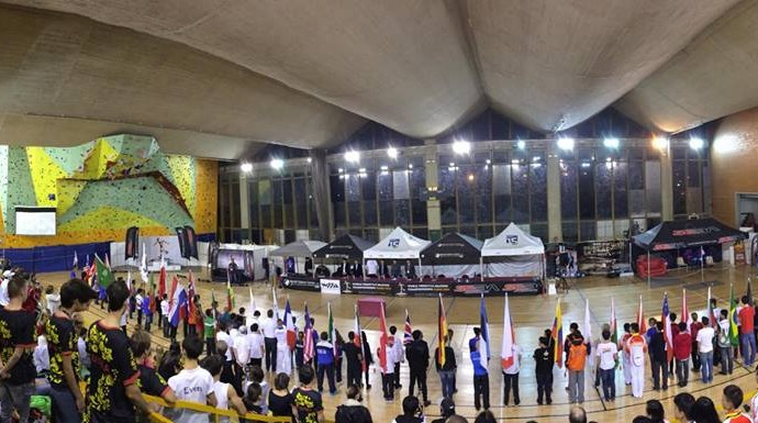 ceremonia apertura World Freestyle Skating Championships 2014